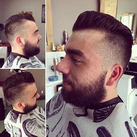 coiffure pour homme