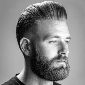 rasage de barbe à l'ancienne